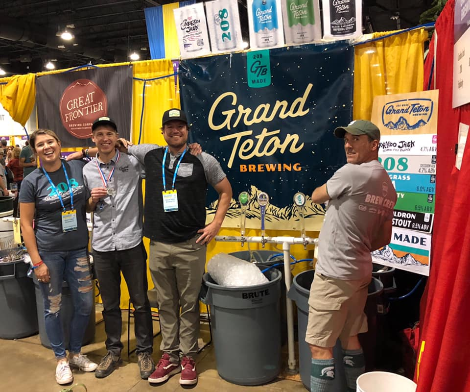 Grand Teton at GABF