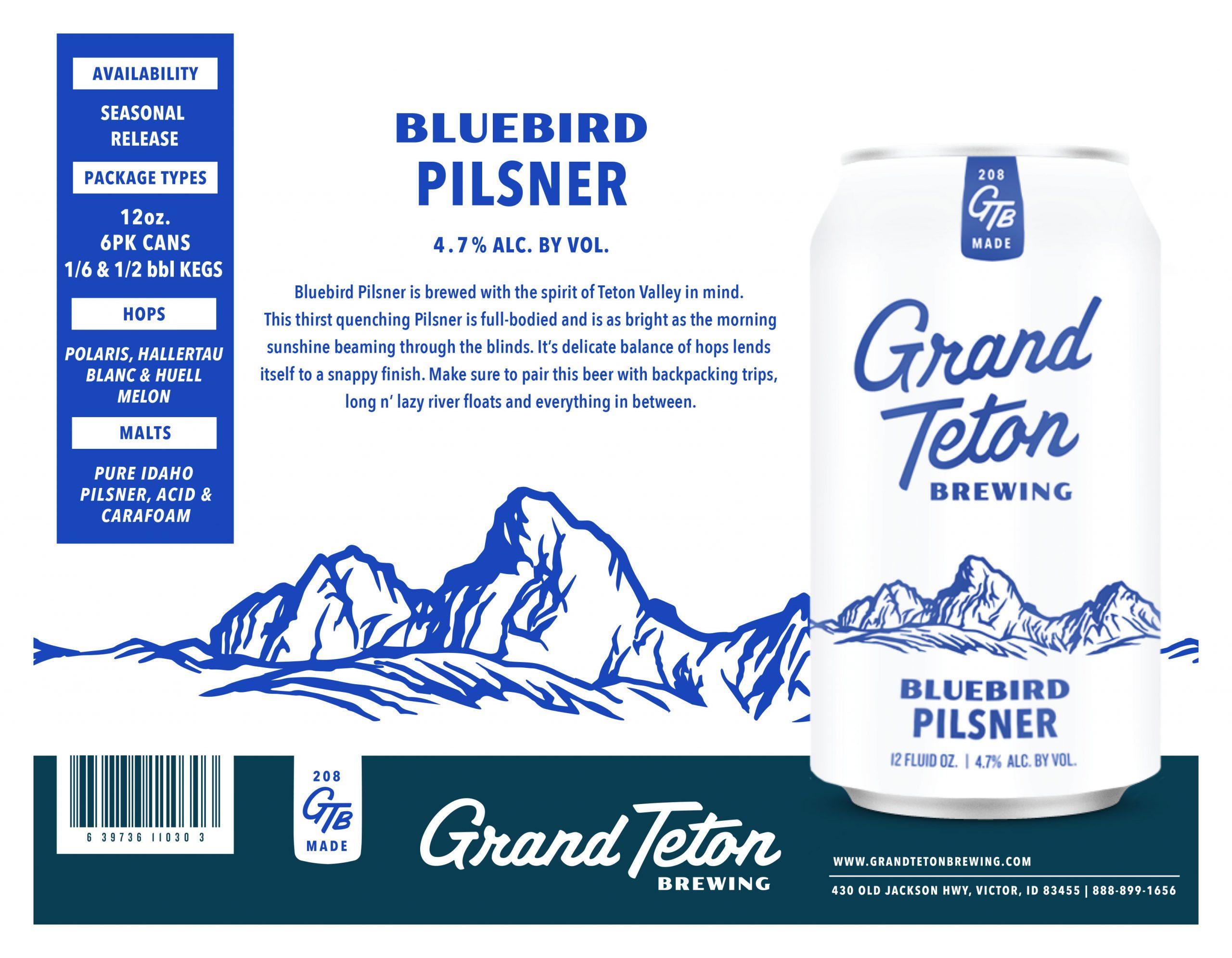 Bluebird Pilsner