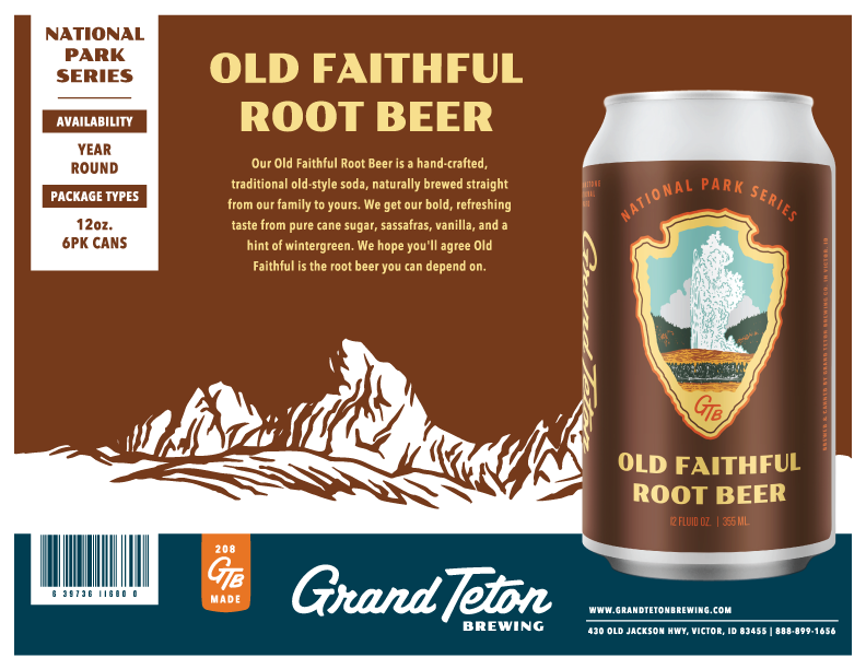 Old Faithful Root Beer Sell Sheet