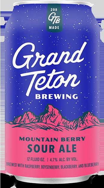 Grand Teton Mountain Berry Can