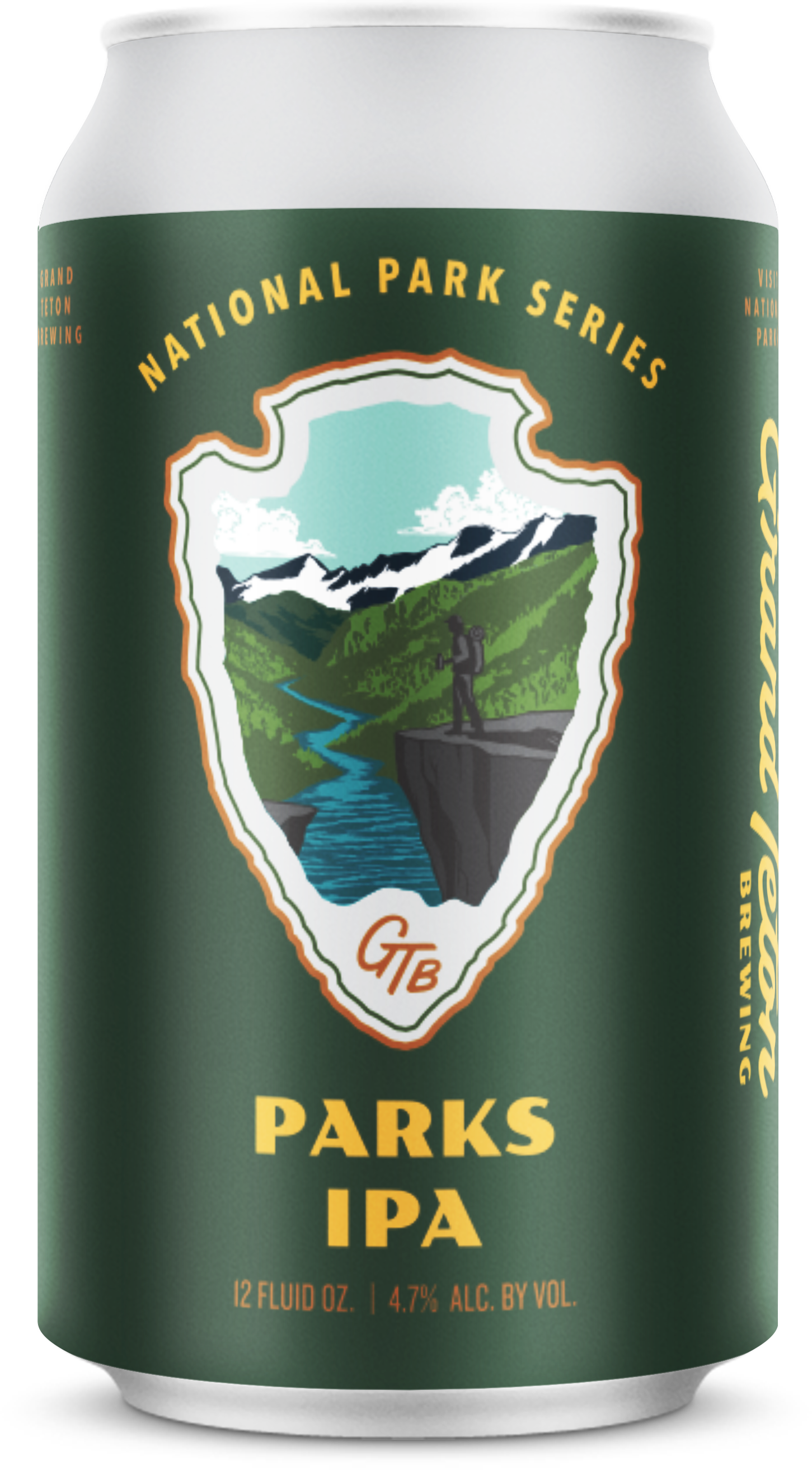 Grand Teton Parks IPA Can