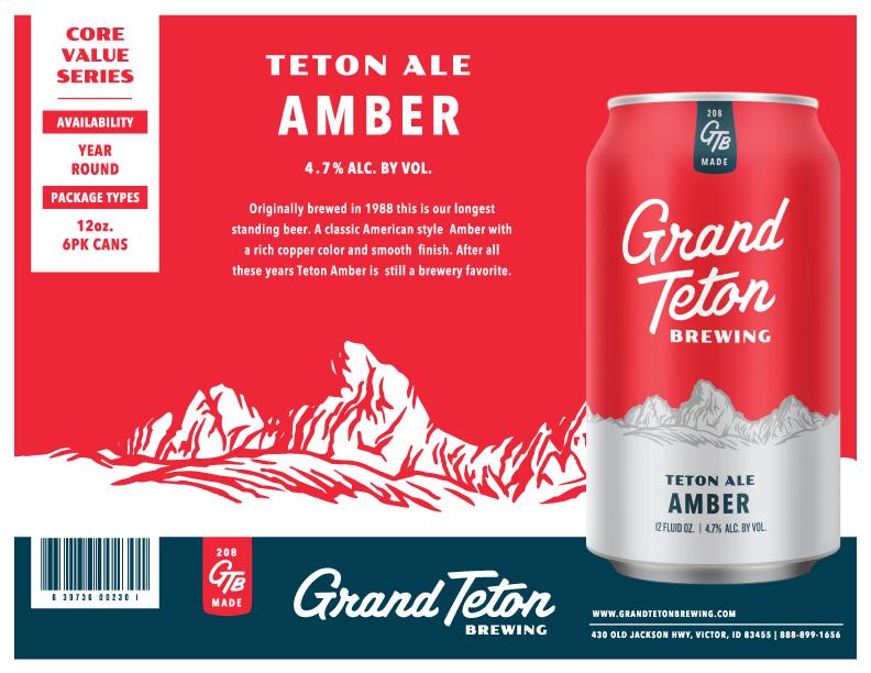 Teton Ale Amber Sell Sheet