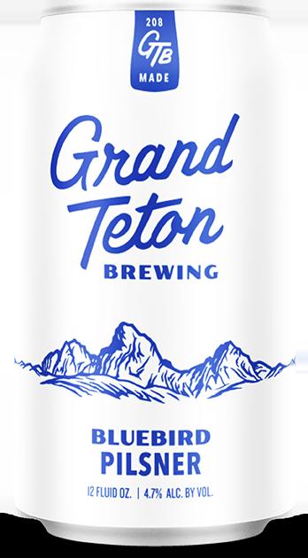 Grand Teton Pilsner Can