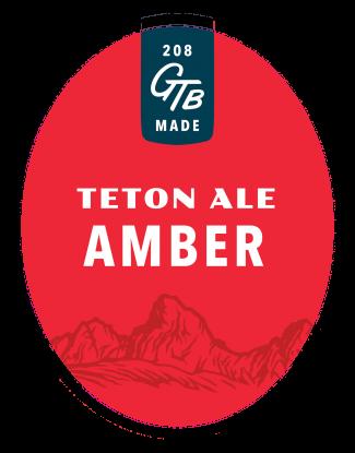 Teton Ale Tap Sticker