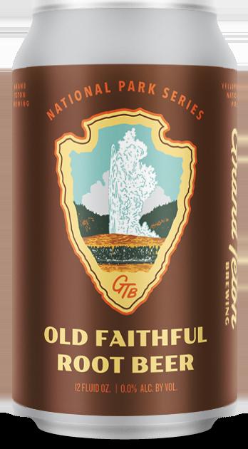 Grand Teton Old Faithful Root Beer